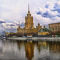 Moscow View  by Gennadiy Golovskoy