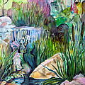 Moses In The Bull Rushes by Mindy Newman