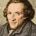 Moses Mendelssohn, German Philosopher by Photo Researchers