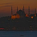 Mosque At Dusk by Eric Tressler