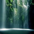 Mossbrae Falls In Sunlight by Zeb Andrews