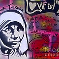 Mother Theresa Living Simply by Tony B Conscious
