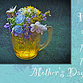 Mother's Day Card - Tiny Wildflower Bouquet by Mother Nature