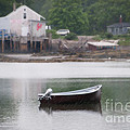 Motor Boat Kennebunkport Maine by Anne Kitzman