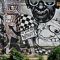 Motor City Graffiti Art by Dennis Pintoski