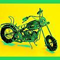 Motorbike 1b by Mauro Celotti