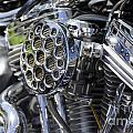 Motorcycle Engine by Mats Silvan
