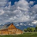 Moulton Barn Morning by Greg Nyquist