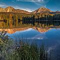 Mount Lassen Reflecting 2 by Greg Nyquist