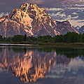 Mount Moran At Sunrise by Greg Nyquist