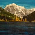 Mount Robson Alberta by Desmond Raymond