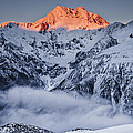 Mount Rolleston In The Dawn Light by Colin Monteath