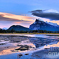 Mount Rundle In The Evening by Tara Turner