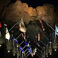 Mount Rushmore By Night by Paul Svensen