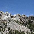 Mount Rushmore Full View by Living Color Photography Lorraine Lynch