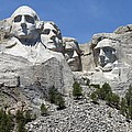 Mount Rushmore Vertical by Living Color Photography Lorraine Lynch