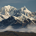 Mount Tasman And Mount Cook Southern by Colin Monteath