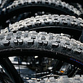 Mountain Bike Tires by Gaspar Avila