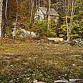 Mountain Cabin by John Greim
