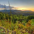 Mountain Evening by Debra and Dave Vanderlaan
