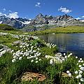 Mountain Lake, Near Schwarzee, Zermatt by Pierre Hanquin Photographie