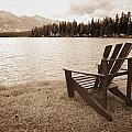 Mountain Lake View by Don Hammond