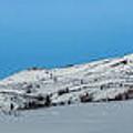 Mountain Range Along The Dempster Highway by Priska Wettstein