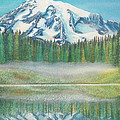 Mountain Reflection by Connie Sherman