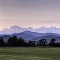 Mountain Sunset - North Carolina Landscape by Rob Travis