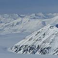 Mountains And Glaciers Near Ny Alesund by Gordon Wiltsie