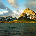 Mountains At Many Glacier by Jeff Swan