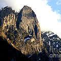 Mountains Of Yosemite . 7d6167 by Wingsdomain Art and Photography