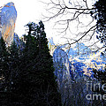 Mountains Of Yosemite . 7d6213 by Wingsdomain Art and Photography