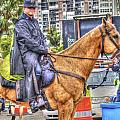 Mounted Police by Dieter  Lesche