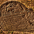 Mountfort - Granary Burying Ground - Greeting Card by Mark Valentine