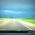 Moving Along Driver Seat View by Alex Blaha