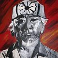 Mr. Miyagi by Kate Fortin
