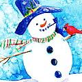 Mr Snowman by Cynthia Roudebush