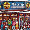 Mr Steer Restaurant Montreal by Carole Spandau