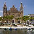 Msida Church by John Chatterley