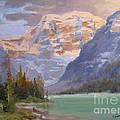 Mt Edith Cavell Jasper by Mohamed Hirji