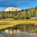 Mt Lassen Reflections by Adam Jewell