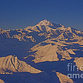 Mt. Mckinley Sunset From Above by Darcy Michaelchuk