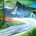 Mt. Of Hope by Evelyn Bloomer