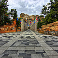 Mt Rushmore Flags by Paul Svensen
