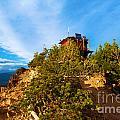 Mt Scott Fire Tower by Adam Jewell
