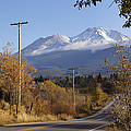 Mt Shasta Autumn by Mick Anderson