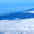 Mt Tamalpais From The Air by Ben Upham III