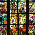 Mucha Window St Vitus Cathedral Prague by Matthias Hauser