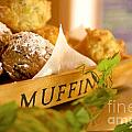 Muffins Fresh And Warm by Bruce Stanfield